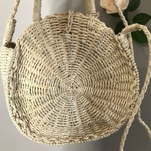 Bags - Circle basket handbag